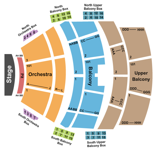 Albany Municipal Auditorium Seating Chart