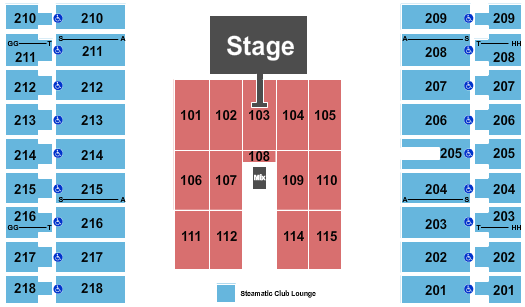 Alerus Center Deff Leppard seating chart - eventticketscenter.com