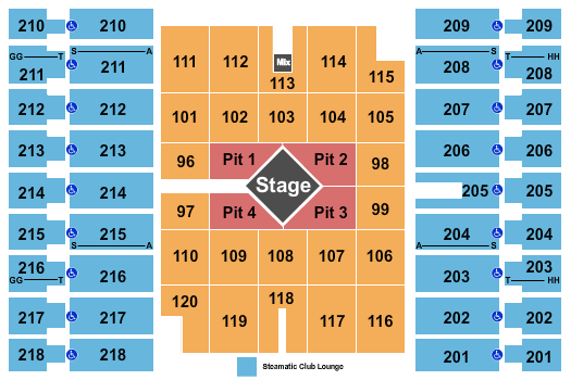 Alerus Center seating chart event tickets center