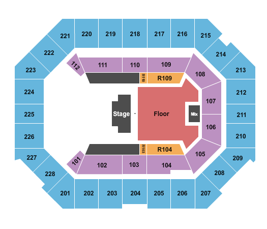 Alliant Energy PowerHouse seating chart event tickets center