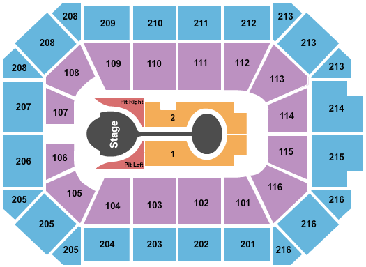 Allstate Arena seating chart event tickets center