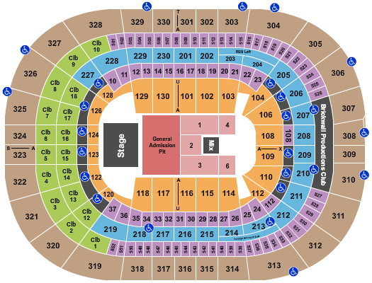 Amalie Arena seating chart event tickets center