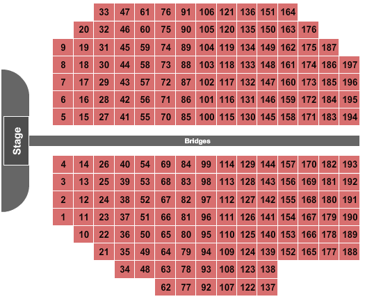 American Bank Center seating chart event tickets center