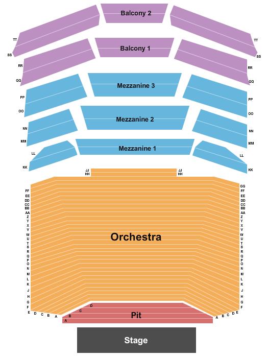 Amherst Fine Arts Center Concert Hall Floor Plan