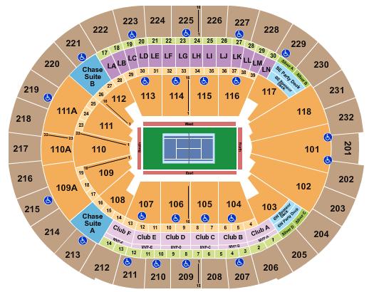 Amway Center Tennis seating chart - eventticketscenter.com