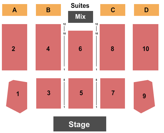 Apache Casino Hotel Seating Chart