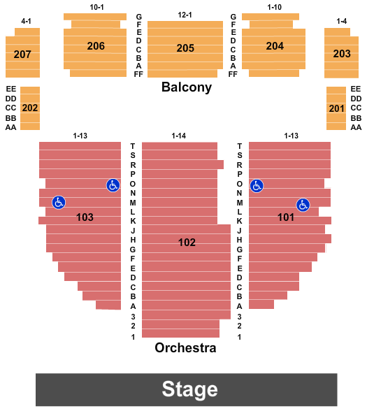 Ted Nugent Arcada Theatre Seating Chart