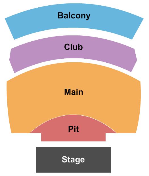 Arizona Federal Theatre Floor Plan