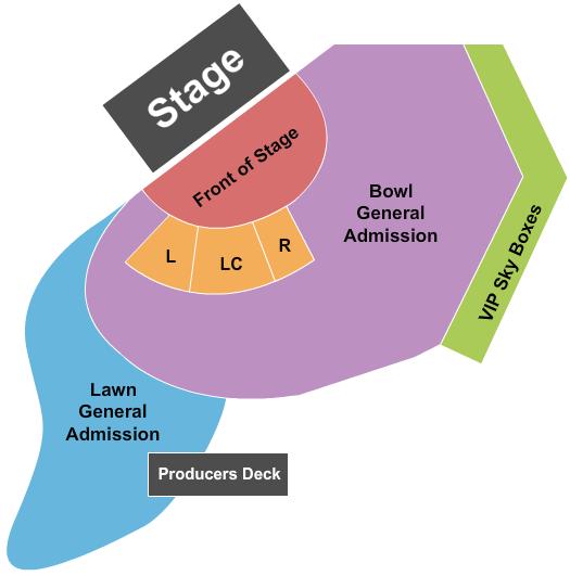 Artpark Amphitheatre seating chart event tickets center