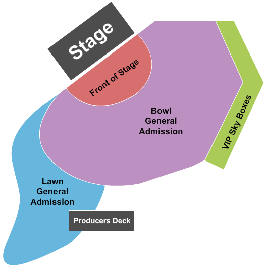 Artpark Amphitheatre seating chart event tickets center