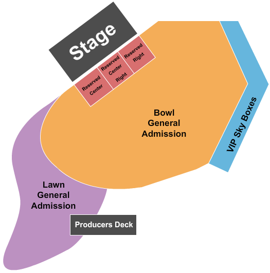 Artpark Amphitheatre Floor Plan