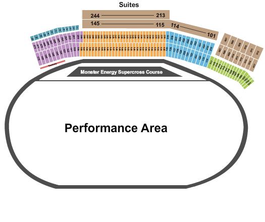 Atlanta Motor Speedway seating chart event tickets center