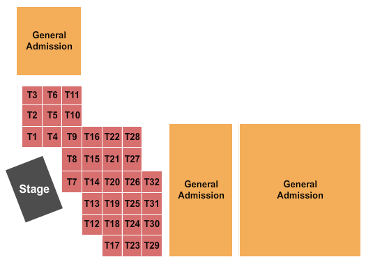 Avondale Brewing Company seating chart event tickets center