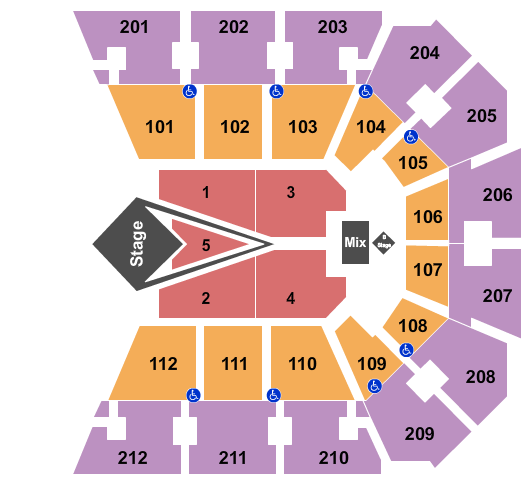 BB&T Arena - KY Floor Plan