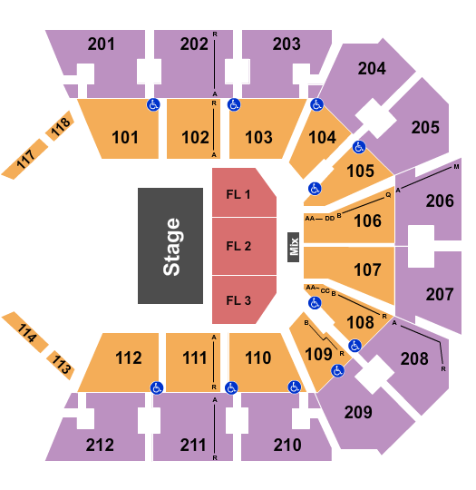 BB&T Arena - KY Seating Chart Plan