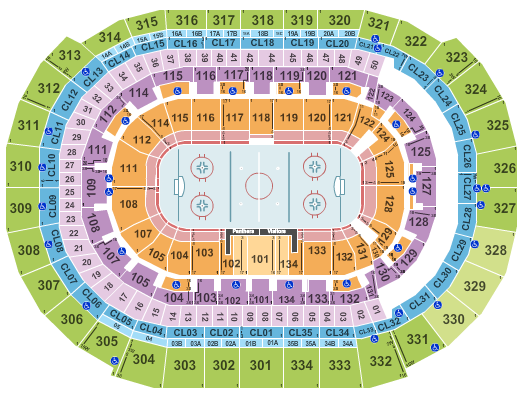 BB&T Center Floor Plan