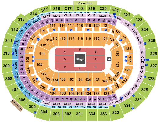 BB&T Center Joe Rogan seating chart - eventticketscenter.com