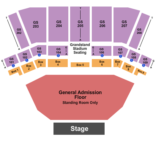 BECU Live at Northern Quest Resort & Casino seating chart event tickets center
