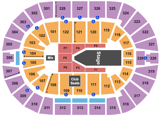 BOK Center The Weeknd seating chart - eventticketscenter.com
