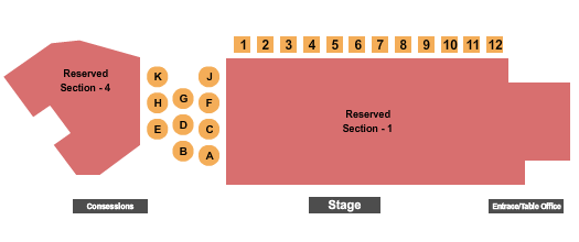 Rob Schneider Backlot Live at Broward Ctr For The Perf Arts Seating Chart