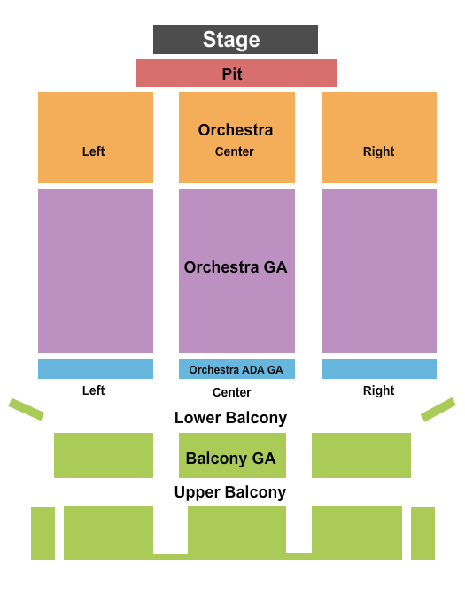 Bakersfield Fox Theater seating chart event tickets center