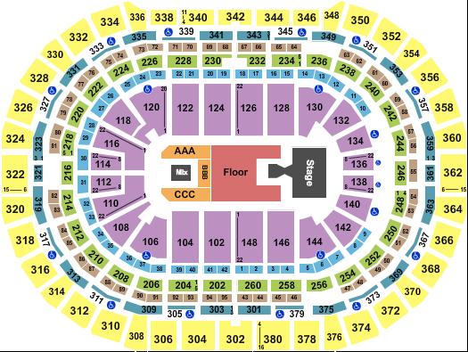 Ball Arena Floor Plan