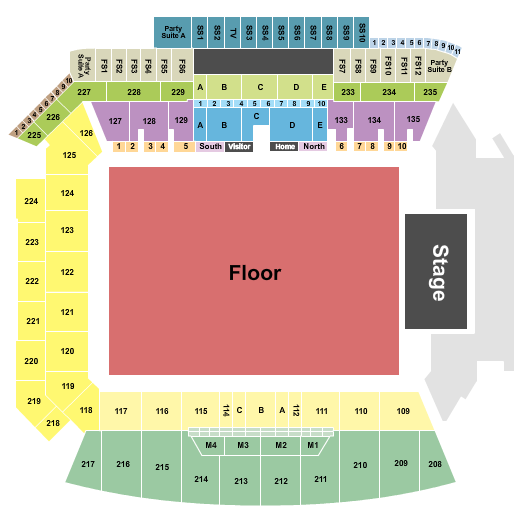 Banc of California Stadium seating chart event tickets center