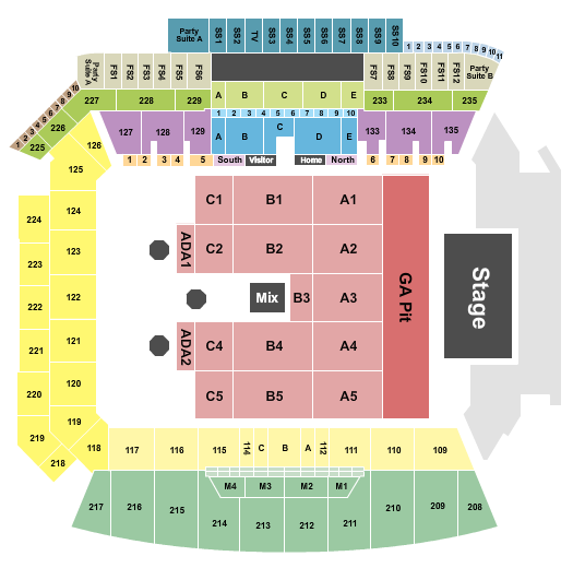 Banc of California Stadium seating chart event tickets center