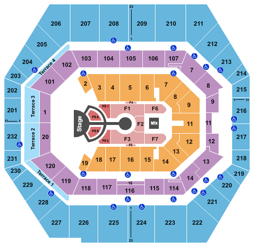 Bankers Life Fieldhouse seating chart event tickets center