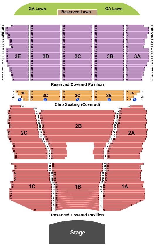Bank of New Hampshire Pavilion Floor Plan