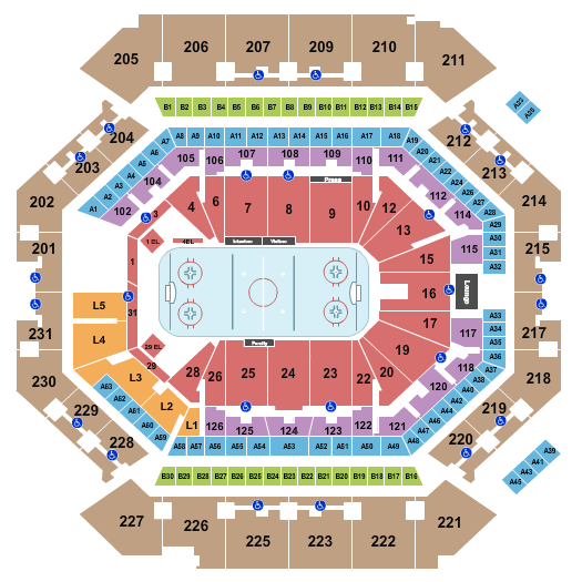 Barclays Center Floor Plan