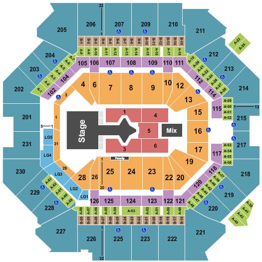 Barclays Center Justin Bieber seating chart - eventticketscenter.com