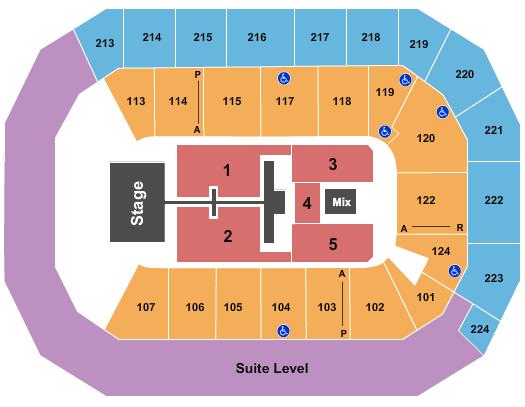 Baxter Arena Floor Plan