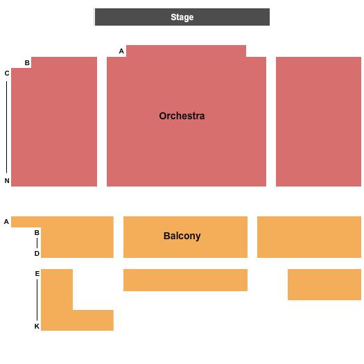 Bellows Falls Opera House Seating Chart