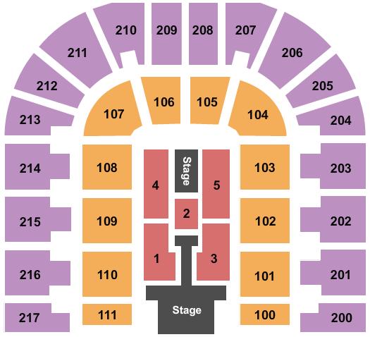 Bert Ogden Arena Enrique Iglesias seating chart - eventticketscenter.com