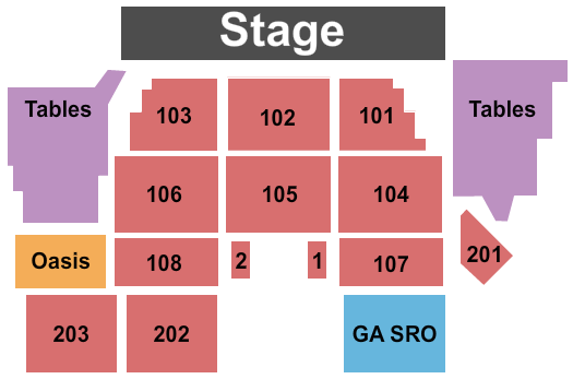 Bethlehem Musikfest - Wind Creek Steel Stage seating chart event tickets center