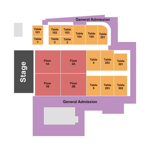 Big Night Live seating chart event tickets center