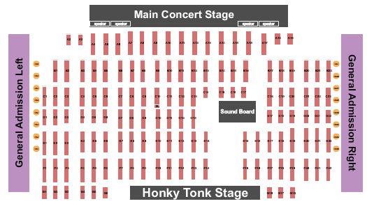 Billy Bobs seating chart event tickets center