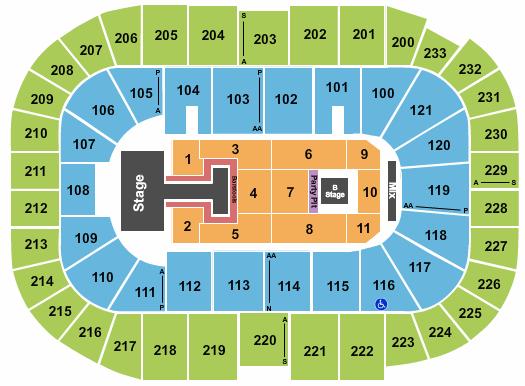 Bon Secours Wellness Arena seating chart event tickets center