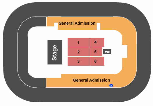 Bon Secours Wellness Arena Seating Map
