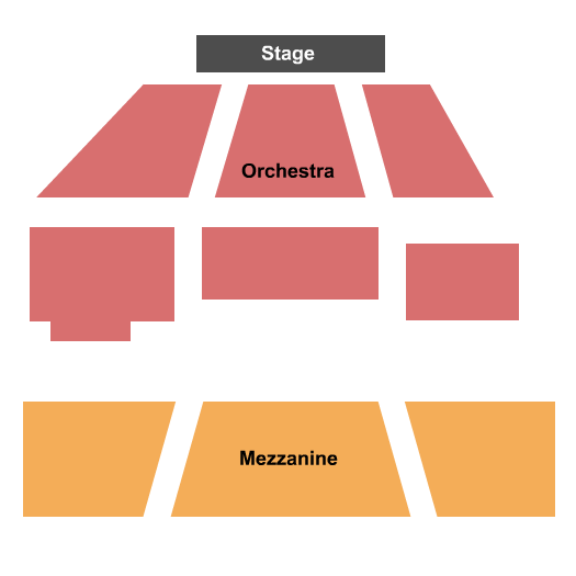 Boyd-Quinson Stage Seating Chart