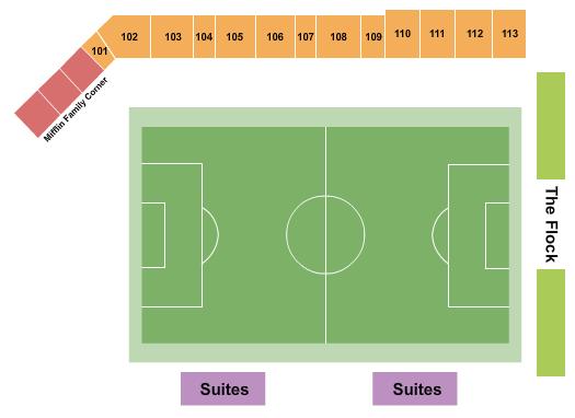 Breese Stevens Field Soccer seating chart - eventticketscenter.com