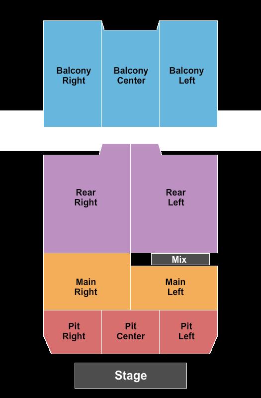 Buckhead Theatre Floor Plan
