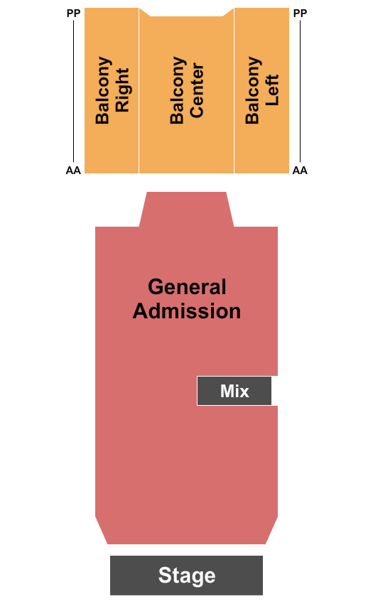 Buckhead Theatre seating chart event tickets center