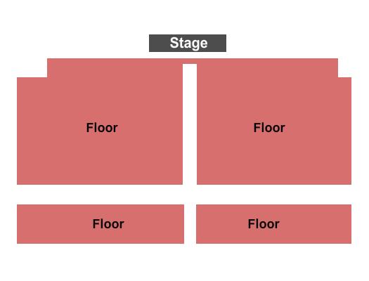 seating chart for Buffalo Run Casino Endstage 2 - eventticketscenter.com
