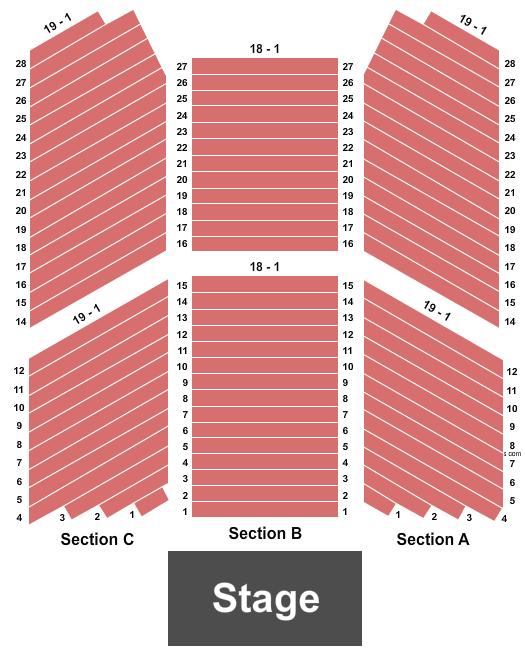 Buffalo Thunder Resort & Spa Seating Chart