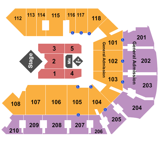 Addition Financial Arena seating chart event tickets center