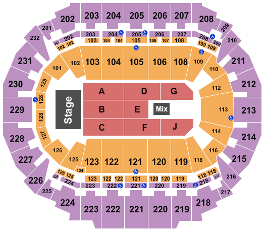 CHI Health Center Omaha seating chart event tickets center