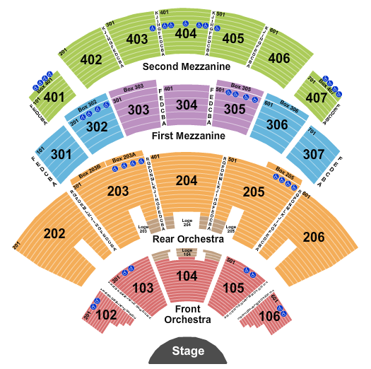 The Colosseum At Caesars Palace seating chart event tickets center