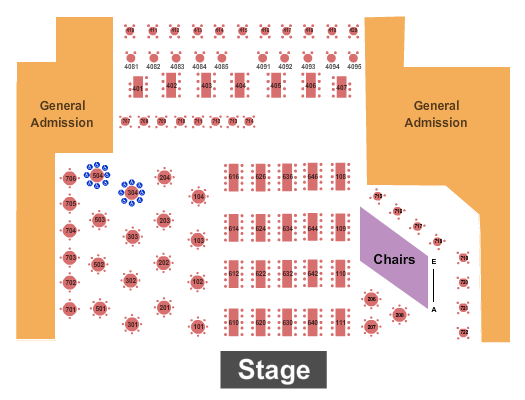 Canyon Club - Agoura Hills seating chart event tickets center